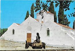 KRITSA - CRITSA - The Panaghias Keras Church - âne- Ezel - Donkey - Grèce