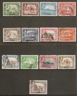 ADEN 1939 - 1948 SET SG 16/27 FINE USED Cat £40 - Aden (1854-1963)
