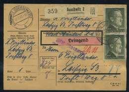 Paketkarte 1943 AUSCHWITZ (Schl.) Siehe Beschreibung (114785) - Deutschland