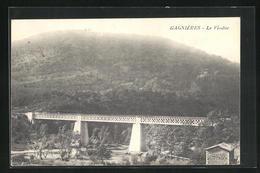 CPA Gagnieres, Le Viaduc - France