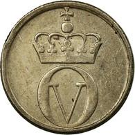 Monnaie, Norvège, Olav V, 10 Öre, 1965, TTB, Copper-nickel, KM:411 - Norvège