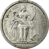 Monnaie, Nouvelle-Calédonie, Franc, 1949, Paris, SUP, Aluminium, KM:2 - Nuova Caledonia