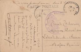 BASSES PYRENEES CP 1915 BETHARRAM HOPITAL MILITAIRE DE BETHERRAM - Marcophilie (Lettres)