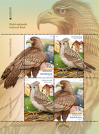 ROMANIA 2019: EUROPA - NATIONAL BIRDS 2 Sets As Block Type 1 - Registered Shipping! Envoi Enregistre! - 2019