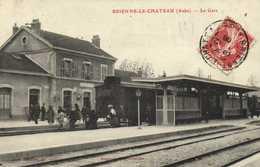 BEIENNE LE CHATEAU (Aube) La Gare RV - France