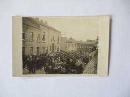 JEMEPPE SUR MEUSE CARTE PHOTO LES OBSEQUES DU PERE ANTOINE PH. IS. MORDANT 36 RUE COCKERILL SERAING - Belgique
