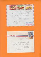 TCHAD   Lot De 4 Lettres  Annees 1970   Voir Scan  Pour 22 DINAN - Tchad (1960-...)