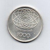 """ITALIA - 1970 - 1000 Lire """"Roma Capitale"""" - FDC - Argento 835 - Peso 14,6 Grammi - (MW2183) - 1946-… : Repubblica"""