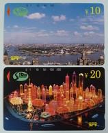 CHINA - Tamura - Shanghai - P94-04 - 70 To 71 - Set Of 2 - Lujiazui Finance & Trade Zone Dev Co. - SPT - Mint - Cina