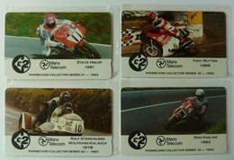 ISLE OF MAN - GPT - 1310M - Matched Controls - TT Races - Set Of 4 - Mint Blister - Isle Of Man