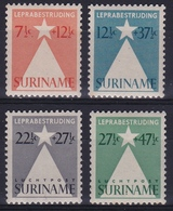 Suriname 1947 Leprazegels Complete Postfrisse Serie NVPH 247 /248 + LP 29/30 - Suriname ... - 1975