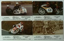 ISLE OF MAN - GPT - 7IOMA To D - TT Races - Set Of 4 - Mint - Isola Di Man