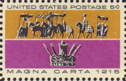 Ref. 161817 * NEW *  - UNITED STATES . 1965. 750 ANIVERSARIO DE LA CARTA MAGNA - Ungebraucht