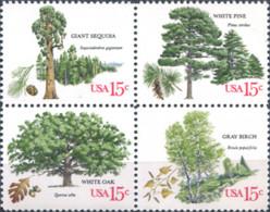 Ref. 311042 * NEW *  - UNITED STATES . 1978. TREES. ARBOLES - Etats-Unis