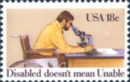 Ref. 244373 * NEW *  - UNITED STATES . 1981. INTERNATIONAL YEAR OF HANDICAPPED PERSONS. A�O INTERNACIONAL DE LAS PERSONA - Etats-Unis