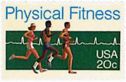 Ref. 27036 * NEW *  - UNITED STATES . 1983. PHYSICAL FITNESS NATIONAL MONTH. MES NACIONAL DE LA FORMA FISICA. - Etats-Unis