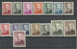 TURQUIA YVERT  1060/74     MH  * - 1921-... República