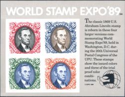 Ref. 248066 * NEW *  - UNITED STATES . 1989. WORLD STAMP EXPO 89. WORLD STAMP EXPO 89 - Estados Unidos