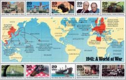 Ref. 48602 * NEW *  - UNITED STATES . 1991. ANNIVERSARY OF THE SECOND WORLD WAR. ANIVERSARIO DE LA II GUERRA MUNDIAL - United States