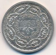 I105-18 - Monnaie Argent - 10 Francs - Tunisie Protectorat Français 1953 - Colonies