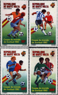 Ref. 69945 * NEW *  - UPPER VOLTA . 1982. FOOTBALL WORLD CUP. SPAIN-82. COPA DEL MUNDO DE FUTBOL. ESPA�A-82 - Alto Volta (1958-1984)
