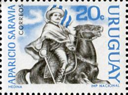 Ref. 234998 * NEW *  - URUGUAY . 1966. PERSONAJES DE LA REVOLUCION URUGUAYA - Uruguay