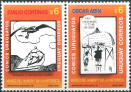 Ref. 179457 * NEW *  - URUGUAY . 1998. MUSEO DEL HUMOR Y DE LA HISTORIETA - Uruguay