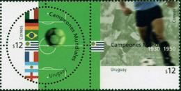Ref. 4510 * NEW *  - URUGUAY . 2002. FOOTBALL WORLD CUP. SOUTH KOREA AND JAPAN-02. COPA DEL MUNDO DE FUTBOL. COREA DEL S - Uruguay