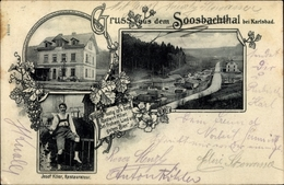Cp Karlovy Vary Karlsbad Stadt, Soosbachthal, Rücks Gasthaus - Tchéquie