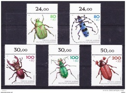 Duitsland 1993 Nr 1497/1501 **, Zeer Mooi Lot Krt 3685 - Timbres