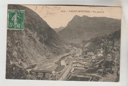 CPA MOUTIERS (Savoie) - SALINS MOUTIERS : Vue Générale - Moutiers