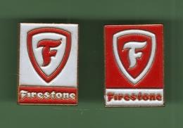 FIRESTONE *** Lot De 2 Pin's Differents *** 0049 - Merken