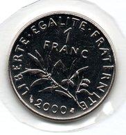 1 Franc 2000  - état  FDC - H. 1 Franc