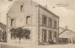 CHARETTE - Maison Rebillard,café.(carte Vendue En L'état). - France