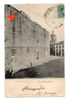 34196-ZE-ESPAGNE-Fuenterrabia-Castillo De Carlos V----------taxe Française 10 Cent Brun - Espagne