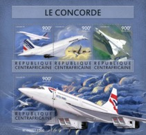 Central Africa 2015  Concorde ,airplane - Centrafricaine (République)