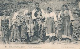 ENVIRONS DE MONASTIR - N° 23 - FAMILLE MACEDONIENNE (C P DE CARNET) - Macédoine