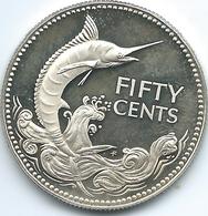 Bahamas - Elizabeth II - 50 Cents - 1977 (KM64a) - Bahamas