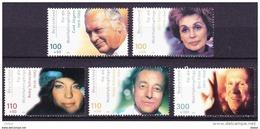 Duitsland 2000 Nr 1975/79 **, Zeer Mooi Lot Krt 3713 - [7] République Fédérale