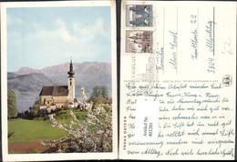 403201,SOS Kinderdorf Ostern Attersee Am Attersee Kirche Bergkulisse - Tierwelt & Fauna