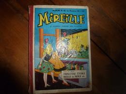 Année 1956  (N° 121- 122- 123 - 124 - 125 - 126- 127 - 128 - 129 - 130 )  De MIREILLE Le Journal Préféré Des Fillettes - Lots De Plusieurs Livres
