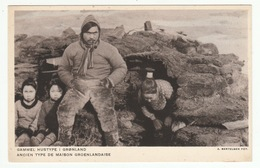 Ancien Type De Maison Groenlandaise - Greenland