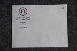 Militaria - SIDI BEL ABBES - Enveloppe De La La Légion - Historical Documents
