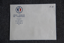Militaria - SIDI BEL ABBES - Enveloppe De La La Légion - Historische Documenten