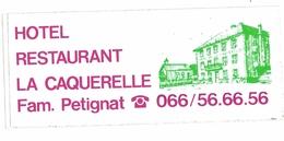 Autocollant La Caquerelle / Asuel Baroche Sommet Des Rangiers - Autocollants