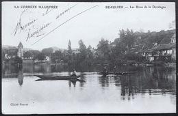 LA CORRÈZE ILLUSTRÉE    BEAULIEU - Les Rives De La Dordogne - Autres Communes