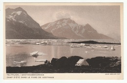 Groenland - Camp D'été Dans Le Fiord De Godthaab - Greenland