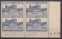 N° 286 En Bloc De 4 Coin Daté 03/07/45 - X X - ( C 612 ) - Neufs