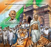Central Africa 2015 Mahatma Gandhi, Tiger - Central African Republic