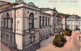BADEN BADEN - FRIEDRICHS UND AUGUSTABAD - Baden-Baden